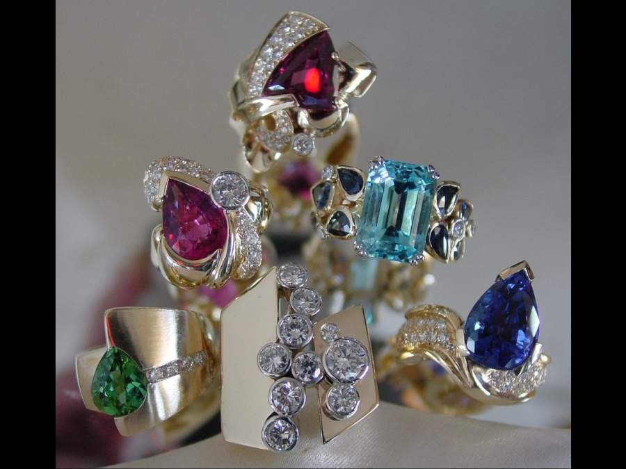 custom jewelry ring collection